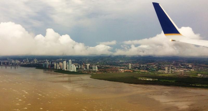 Panama City aus der Luft