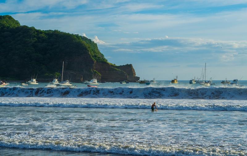 Surfer in SJDS