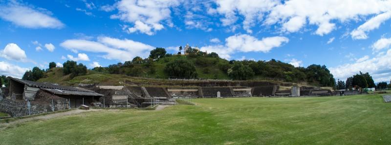 Ein Teil der gigantischen Ausgrabungsstätte