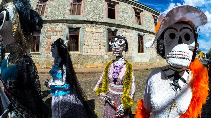 Días de los Muertos in Oaxaca